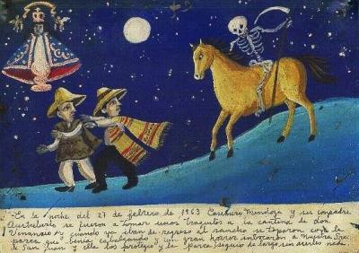 Ретабло Деве Хуанской за избавление от смерти, ехавшей верхом, 1963 год