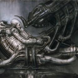 Космический жокей. Концепт Г.Р.Гигера