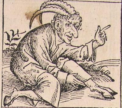 Эгипан на иллюстрации к нюренбергской хронике 1493 года