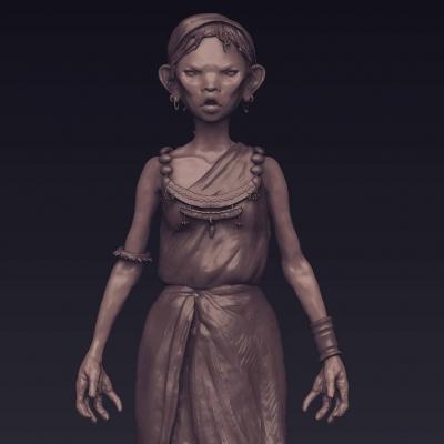 Дегдер. 3D-арт Греты Абени