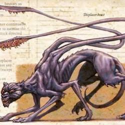 Displacer Beast из бестиария AD&D