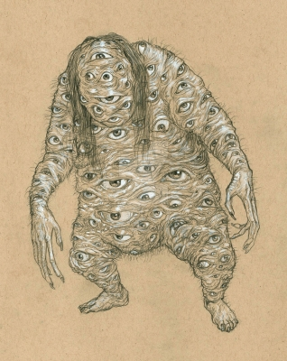 Додомэки. Иллюстрация Курта Комода (TickleMeCthulhu)