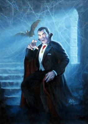 Дракула. Иллюстрация Дэна Бове