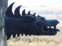 Дракон-горгулья. Украшения замка