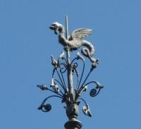Дракон. Украшение одной из башен лиссабонского Института винограда и вина