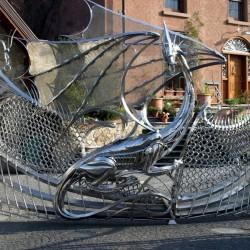Драконьи ворота (Харлч, Дублин, Ирландия)
