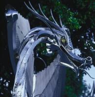 Фрагмент Драконьих ворот (Харлч, Дублин, Ирландия)