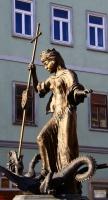 Драконоборец, женский вариант. Cтатуя Св.Маргариты