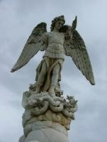 Арх. Михаил попирает многоглавого дракона (Леон, Никарагуа)