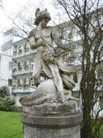 Драконоборец Зигфрид — статуя в Бремене
