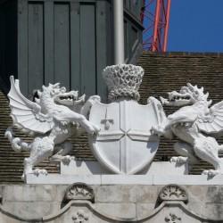 Драконы на лондонском Доме гильдий