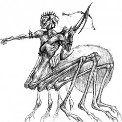 Драйдер из первого MonsterManual'а для игр AD&D