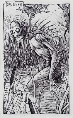 Утопец. Иллюстрация Дарека Кшака (DK13Design)