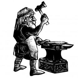 Дварф. Иллюстрация Мерли Инсинга