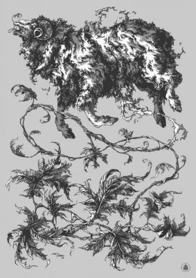 Баранец (Vegetable Lamb of Tartary) от иллюстратора Ивана Беликова
