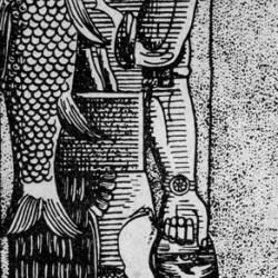 Бог Эа в виде человека-рыбы