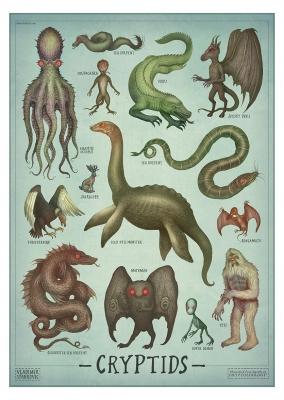 Криптиды. Постер от Владимира Станковича