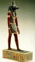 Статуя бога Анубиса. Около 300 года до н.э.