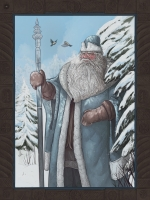 Мороз. Иллюстрация Эмиля Султанова