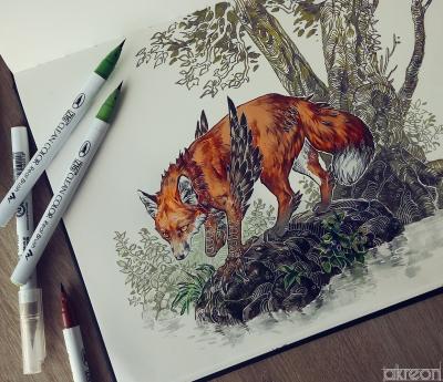 Энфилд. Иллюстрация Анны Подедворной