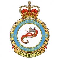 Хейтлик на логотипе 442 транспортно-спасательной эскадрильи (Королевские ВВС Канады)