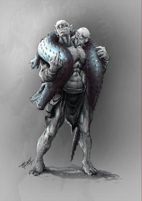 Эттин. Иллюстрация Просенджита Мондала