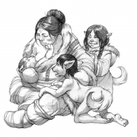 Адлет. Иллюстрация Евы Вайдерманн
