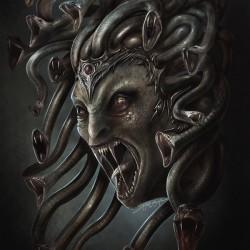 Медуза. Иллюстрация Йигита Короглу
