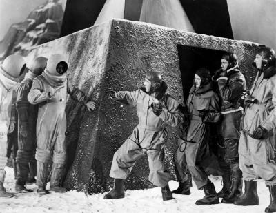 """Рекламное фото к фильму """"Полёт на Марс"""" (Flight to Mars, 1951)"""
