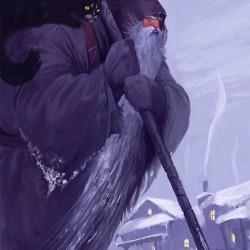 Frost. Картина Ильи Комарова
