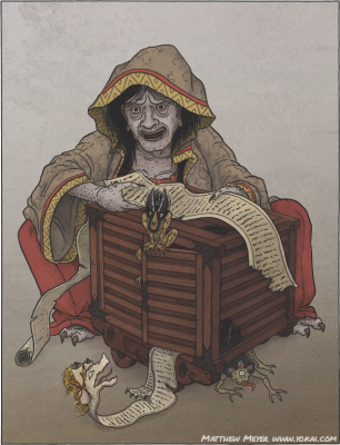Фугурума-ёби. Иллюстрация Мэттью Мэйера