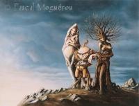 Корриган с дамами. Рисунок Паскаля Могеро