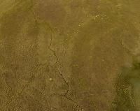Остатки стены Финни Герт. Вид с воздуха