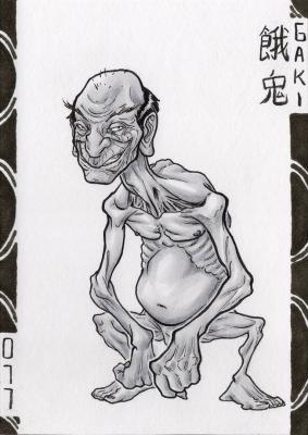 Гаки. Иллюстрация Лукаса Перейры