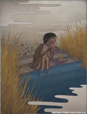 Ганги-кодзо. Иллюстрация Мэтью Мэйера