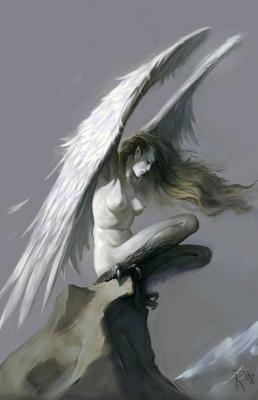 Гарпия. Иллюстрация Вальдемара Казака
