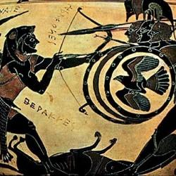 Чернофигурная амфора, прим.550-540гг. до н.э.
