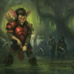 Archer goblins. Иллюстрация Дмитрия Бурмака (DevBurmak), 2009