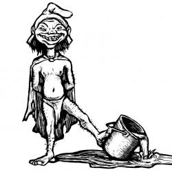 Гоблин. Иллюстрация Мерли Инсинга