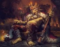"Goblin Lord. Иллюстрация Дмитрия Храповицкого к ККИ ""Берсерк"""