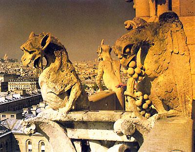 Горгульи Собора Парижской Богоматери