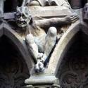 Горгулья. Украшение стены Собора Парижской Богоматери