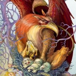 Gryf (Грифон). Иллюстрация Витольда Варгаса (Witold Vargas)