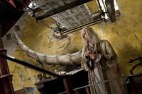 """Рог громамонта в доме Ксенифилиуса Лавгуда. Кадр из фильма """"Гарри Поттер и дары смерти"""""""