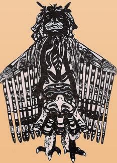 Громовая птица. Ритуальный костюм квакиутлей