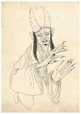 Кидзё (Kijo). Рисунок Хиро Кавахара