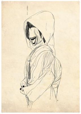 Охагуро Бэттари (Ohaguro Bettari). Рисунок Хиро Кавахара