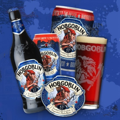 "Пиво ""Hobgoblin"" компании ""Wychwood Brewery"""