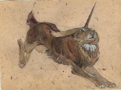 Мирадж. Рисунок Светланы Игнатовой