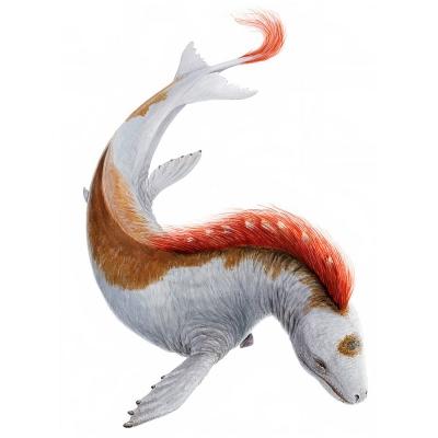 Гроссвалур. Иллюстрация Йона Бальдура Хлидберга (Jón Baldur Hlíðberg)